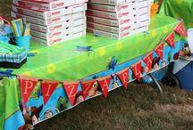 Hudson's 3rd birthday party Ideas! / by Allison Silvas