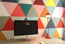 Wall Ideas / by Michelle Rinosa-Sy