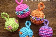 Crochet = Christmas / Ornaments = etc. / by Patricia Leafty