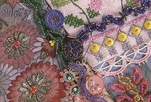 crazy quilt ideas  / by Linda Hatcher