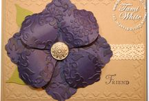 Build a Blossom Cards SU / by Patricia Lemont