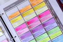 Organizing - Ideas for Planners/Binders / by Kate Allen