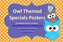 Owls / by Aimee CiceroGolden