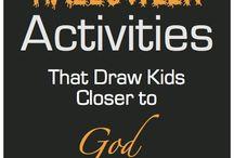 Christian Halloween and Harvest Ideas / Ideas for Christian families to celebrate Halloween and the Harvest Season / by Christianity Cove