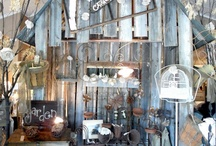 antique booth ideas / by DeeAnn Ricker-Fisher