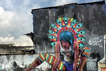 A livre arte das Ruas / Nestes tempos onde a livre expressão esta sendo lentamente  e silenciosamente proibida,..  / by PAULO ALBERICI