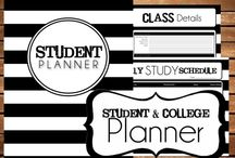 Office Supplies / Office and school supplies. (Also: placeholder for school binder and templates.) / by Mellie Raizel