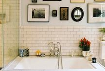 ABODE: BATHROOM / by Kendra Fromm