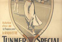 Vintage Tennis Posters / All things vintage & tennis / by Rennert's Gallery