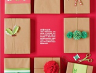 how to wrap a gift / by Confetti Sunshine