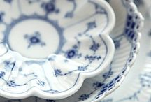 HOME: BLUE AND WHITE / Blue and white - primarily as found in interior decor, furnishings, china, pottery, ceramics and accessories. / by Lori Montgomery