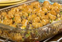 """""""Family Favorites Dinner Cook-Off"""" Finalists / Vote for your favorite recipe from the 10 finalists in our """"Family Favorites Dinner Cook-Off"""" recipe contest with Mr. Food Test Kitchen. Vote by 9/5. / by Easy Home Meals"""