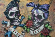 rockabilly...zombie... / by Heather Parker
