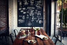 Restaurant Decor / by Jenni Diekneite