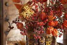 Thanksgiving decor / by Sonya MacGregor