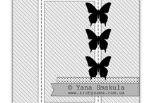 Sketches / Sketches for cards and layouts / by Stampin' Up! Demonstrator Michelle Last