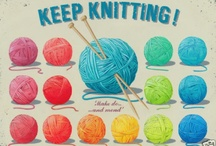 Knitting & sewing to calm down / by Mary Jo Zilveti