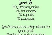 Get fit!  / by Autumn Hernandez