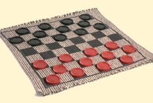 CHECKERS - BOARD GAME  / by Layna Cloud Smith