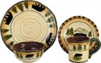 Rustic Dinnerware for Your Home  / Check out our rockymountaindecor.com site for all your rustic decor, bedding, furniture and gifts! Most of our products are Made in the USA!  http://www.rockymountaindecor.com/ / by Rocky Mountain Decor