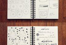sketchbooks de ilustración / by Ilustrando Dudas