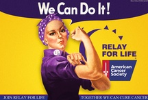 RELAY FOR LIFE-CRUZ'N FOR A CURE / by PAULA CRUZ