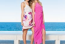 Forever New ~ Wild Orchid / Party dresses and tropical prints make a glamorous summer fashion statement as the days get longer with the colourful and energetic Wild Orchid collection. Early summer parties, tropical holidays and balmy nights set the scene for this spirited story, where vivid pinks and sunset coloured exotic flower prints are enhanced by clean white. Vibrant orchid prints adorn party dresses, pretty playsuits and chic wrap skirts, while bright new look co-ords are perfect for dressed up day wear.  / by Forever New