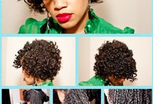 Natural Hair ✘✘✘✘✘ / by That Dope Girl ♥
