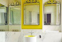 bathroom inspiration / by Meghan Carlson Wise