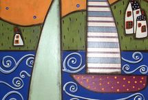 ArtEd- Boats, seascapes / by Donna Staten