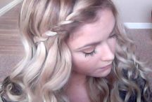 Pretty Hair Tips And Styles / by Misty Perkins