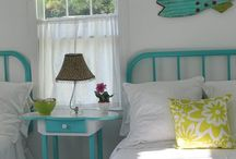 The Beach Cottage Home Decor / Sharing our best beachy room photos with you!  Beach cottages, colorful decorating ideas and unique designs.  Nautical themed decor and tropical themed decor. / by Outer Banks Trading Group, Inc.