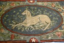 Antique & Vintage Textiles / Old linens, rugs, & other textiles / by Fair Oaks Antiques