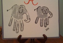 hand print ideas / by Amy McCarter
