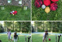 Wedding game / Outdoor and indoor game / by Clémence C.