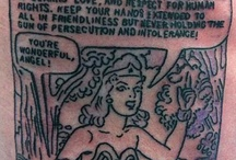 Wonder Woman Tattoos / by Nancy Joyce