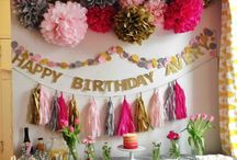 It's My Party! Birthdays, anniversaries, social events  / by Kyla Cooper