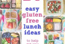 Gluten free lunch ideas - for the girls / by Ginger Lushenko