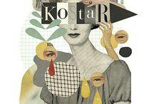 Collage & mixed media / Curación de contenido cultural // Cultural content curation: Collage & mixed media / by Enlaestanteria .com