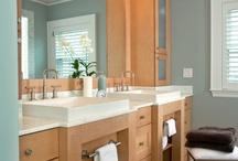 bathroom ideas / by Sue Wimp