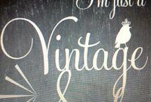 Vintage / by Dawn Vanneste