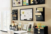 Luxury Craft Rooms & Offices / I like to think I'm crafty, but in reality I just sit around on the computer using Pinterest. / by Catherine Tuckey