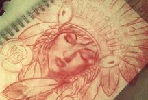 Inkspiration / Tattoos / by Nadia Elizabeth Stefani-Garrett