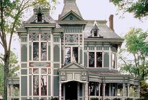 Decidedly Victorian Houses / by ReadKnitTea ~