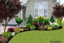 Garden Landscaping Ideas / by Rocky my world