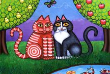 Art**Cats / by Naomi Muramoto