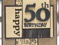 Inspiration - Male Birthday Cards / by Nicky Field