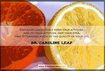 Dr. Caroline Leaf / by Erica N Steven Peterson