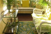 Sunroom decorating ideas / by Betty Eshenour