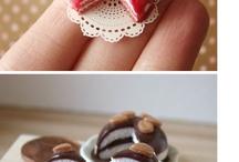 Polymer Clay food 2- desserts / by Sherri Sams